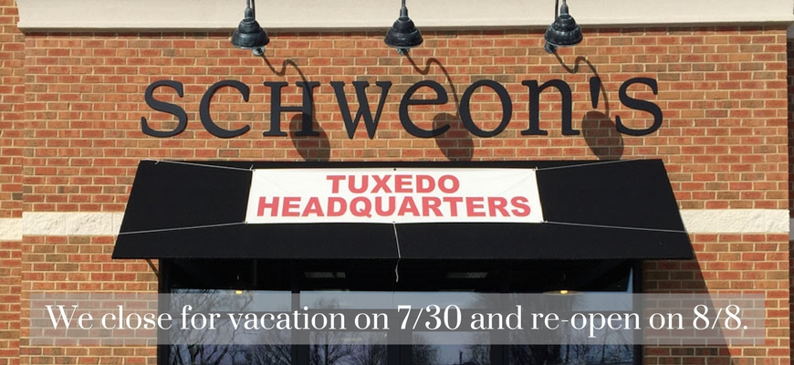 We will be we are closed for vacation from 7-30-8-7 Re-opening on 8-8