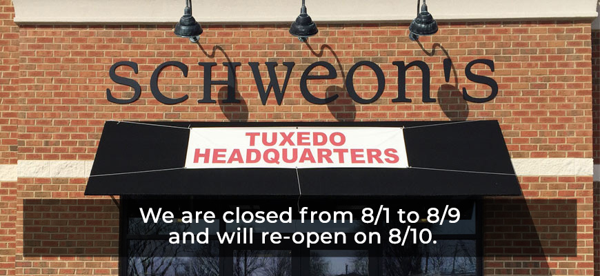 We are closed 8/1 to 8/9 and will re-open on 8/10.